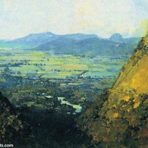 Arthur Streeton, Barron Gorge, Kuranda, W.A.