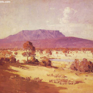 Arthur Streeton, Land Of The Golden Fleece