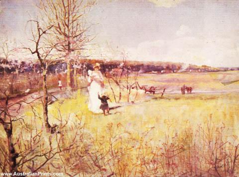 Charles Conder, Springtime 1888