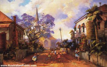d'Arcy Doyle, Hopscotch