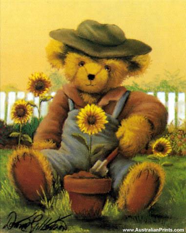 Donna Gilbertson, Garden Teddy