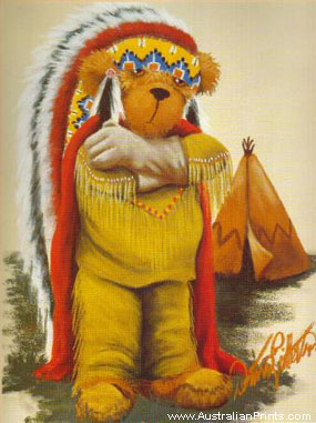 Donna Gilbertson, Indian Chief Teddy