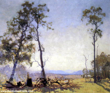 Elioth Gruner, Morning In The Clearing