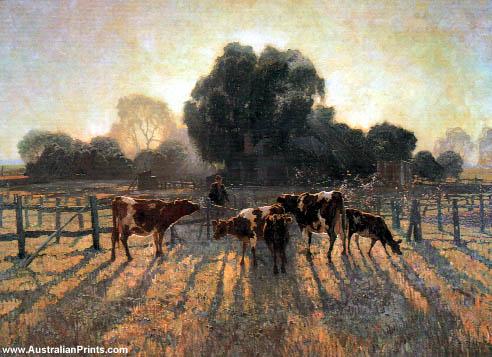 Elioth Gruner, Spring Frost 1919