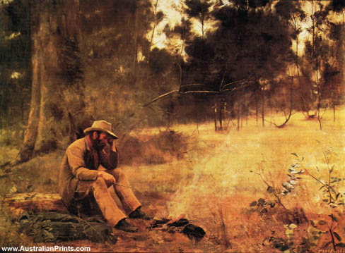 Frederick McCubbin, Down On His Luck