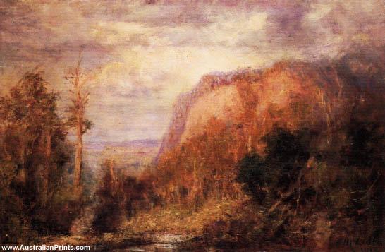 Frederick McCubbin, Landscape Macedon