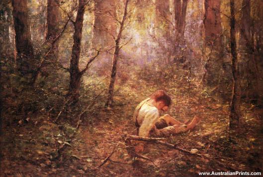 Frederick McCubbin, Lost, 1907