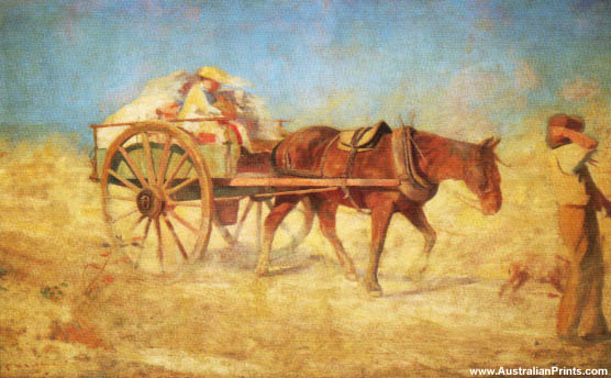 Frederick McCubbin, North Wind