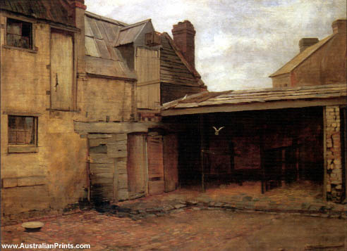 Frederick McCubbin, The Old Stables c.1886