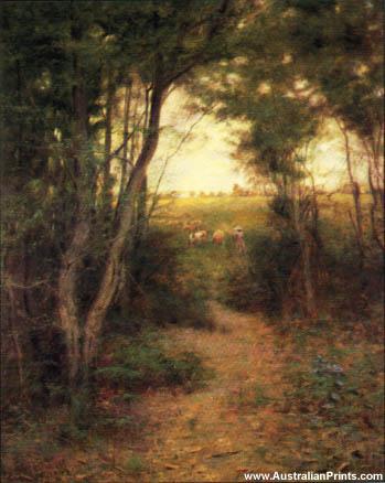 Frederick McCubbin, Ti-Tre Glade, 1897