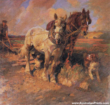 Harold Septimus Power, Ploughing