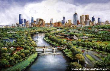 Ian Stephens, Melbourne Gardens