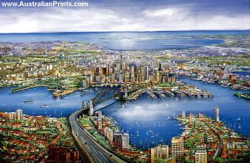 Ian Stephens, Sydney Panorama