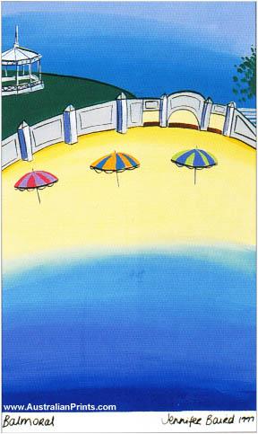 Jenny Baird - Beach Umbrellas