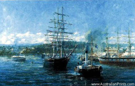 John Eighteen, Last Departure, Cutty Sark, Brisbane River