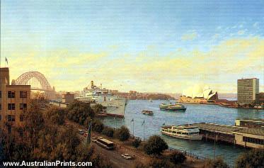 Joseph Frost, Sunny Day Circular Quay