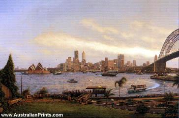 Joseph Frost, Sydney at Dusk
