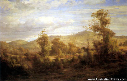 Louis Buvelot, Between Tallarook And Yea