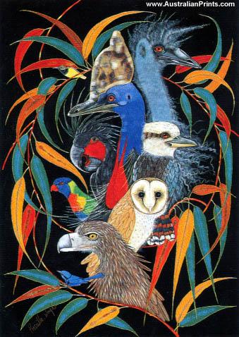 Priscilla Wright, Birds Of A Feather