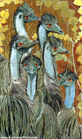 Priscilla Wright, Emu Fantasy