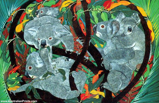 Priscilla Wright, Koala Capers