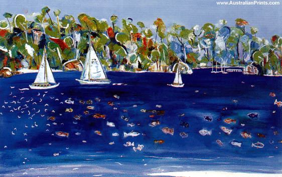 Stewart Westle, Sailing On Cool Waters