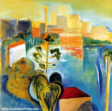 Susan Baird - Opalescent Harbour I