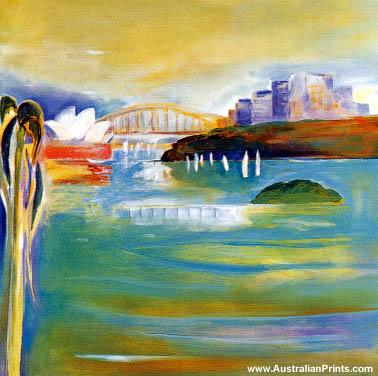 Susan Baird - Opalescent Harbour II