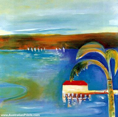 Susan Baird - Opalescent Harbour III