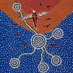 Tobwabba Art Group, Seabirds Flight