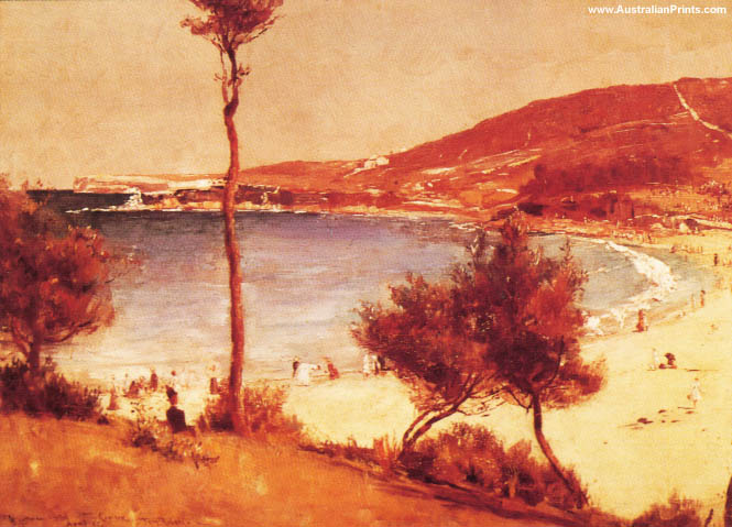 Tom Roberts, Holiday Sketch At Coogee