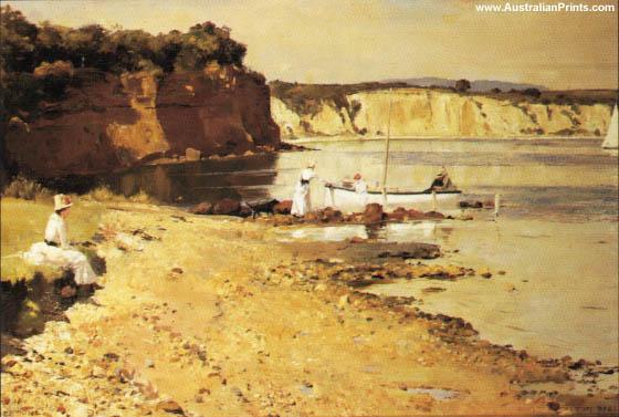 Tom Roberts, Mentone Beach, 1887