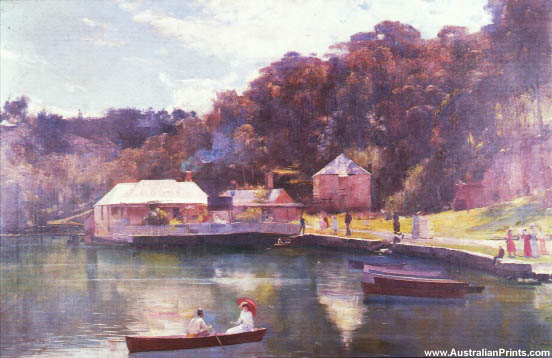 Tom Roberts, Mosman Bay