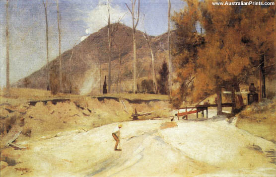 Tom Roberts, On The Timbara
