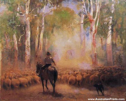 Walter Withers, The Drover